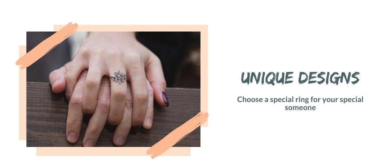 Promise Rings - Unique Design