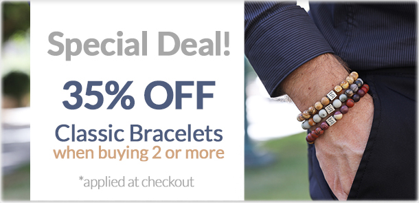 Classic bracelets at 35% Off